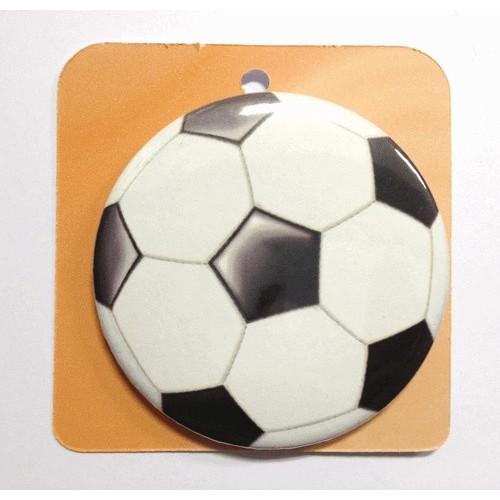 Button badge - Soccer ball