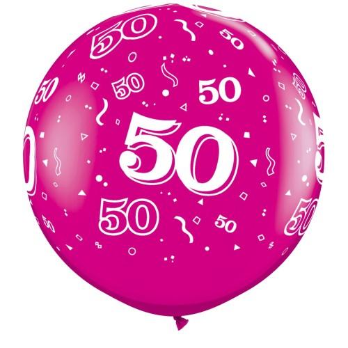 Wild berry giant balloon - 50