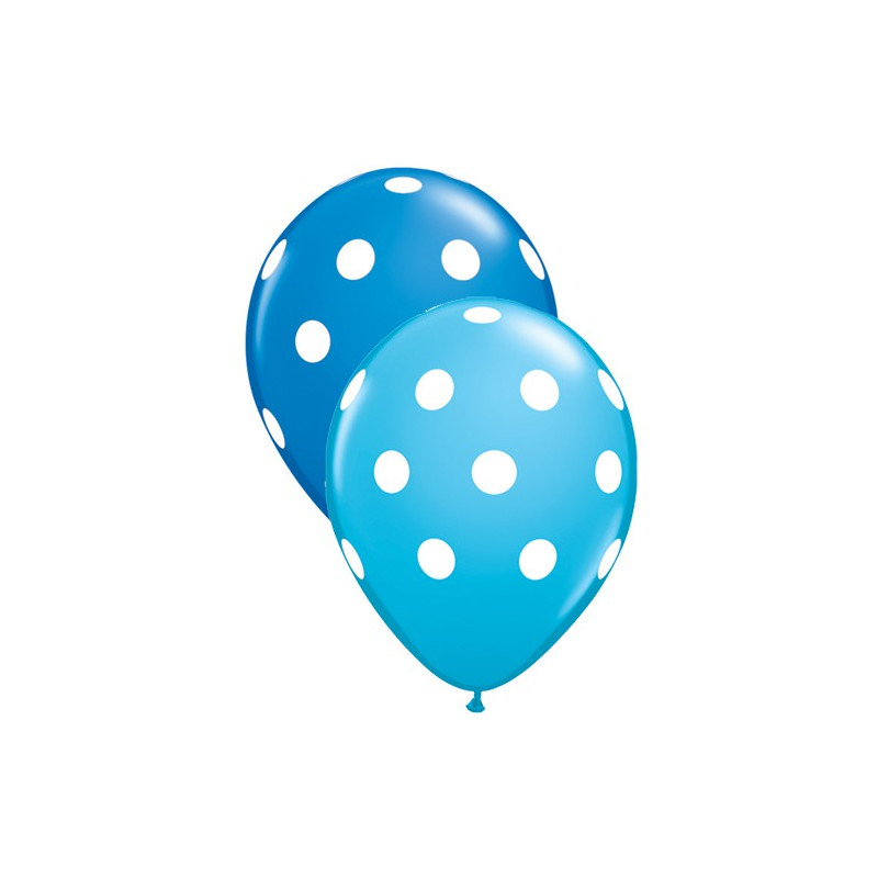 Modri balon s pikami