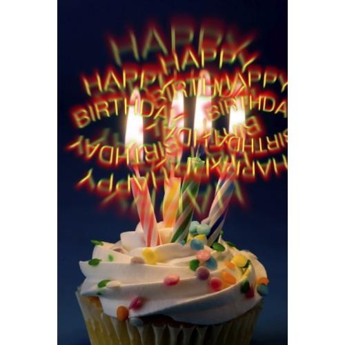 3D Brille - Happy Birthday