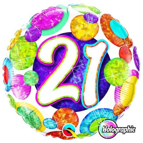 21 Big Dots & Glitz