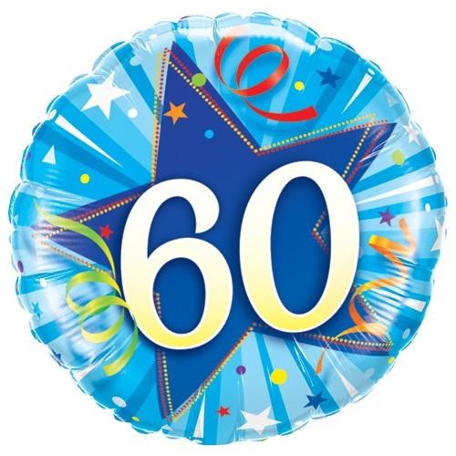 60 Shining Star Bright Blue