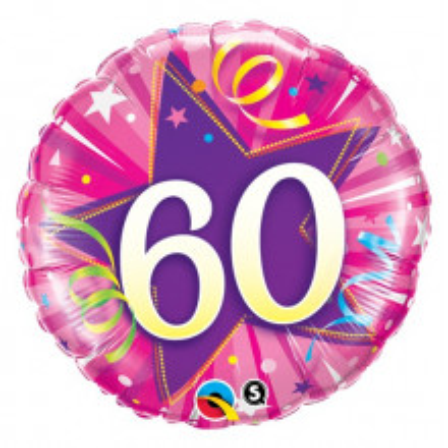 60 Shining Star Hot Pink