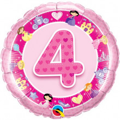 Age 4 Pink Princess