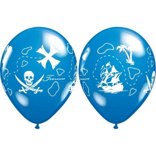 Lateks Balon Pirate's Treasure Map