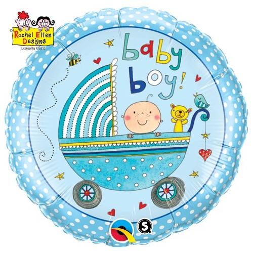 Rachel Ellen- Baby Boy Stroller
