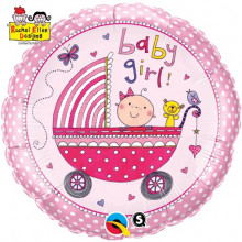 Rachel Ellen- Baby Girl Stroller