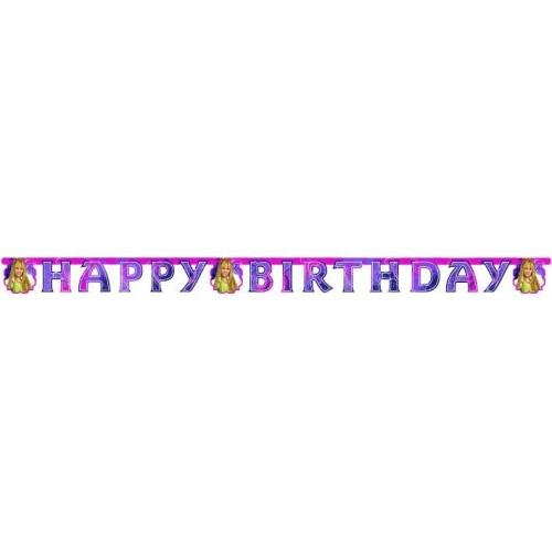 Hannah Montana - Napis Happy Birthday