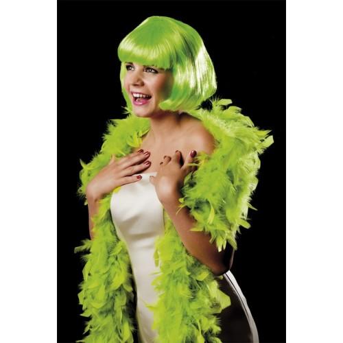 Boa- green feather