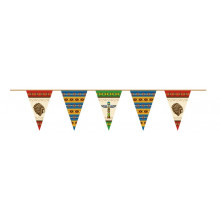 Indians bunting flags
