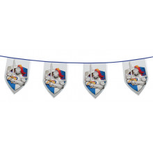 Knights and Dragons bunting flags
