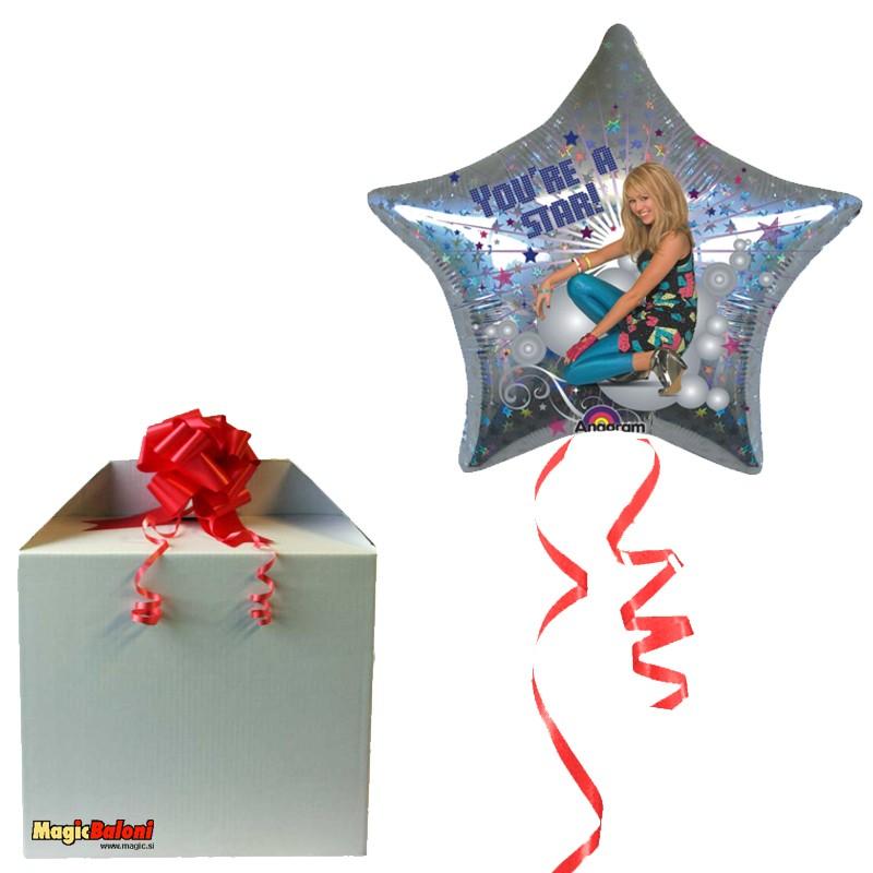Hannah Montana Star balon - opazil
