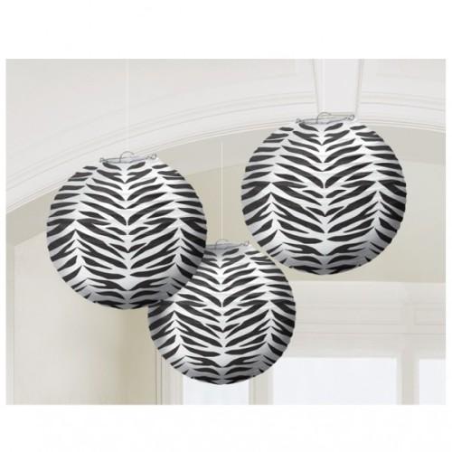Lampion - Zebra