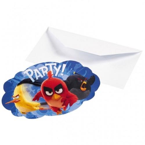 Angry Birds Einladungen