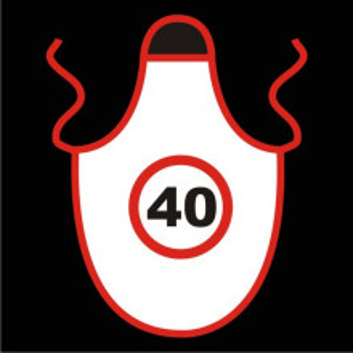 Speed limit apron 40