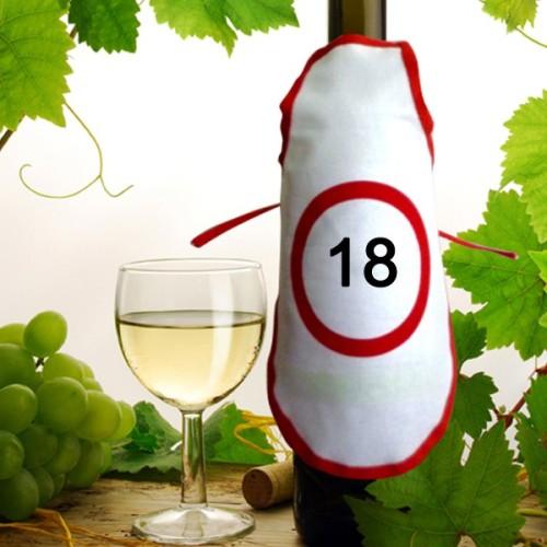 Predpasnik za steklenico 18