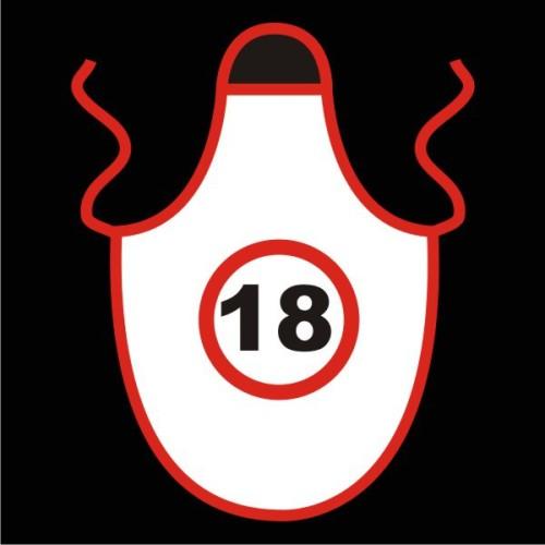 Speed limit apron 18