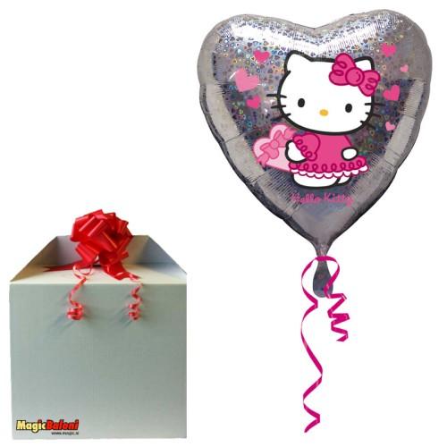 Hello Kitty - Srebrni srèek - napihnjen