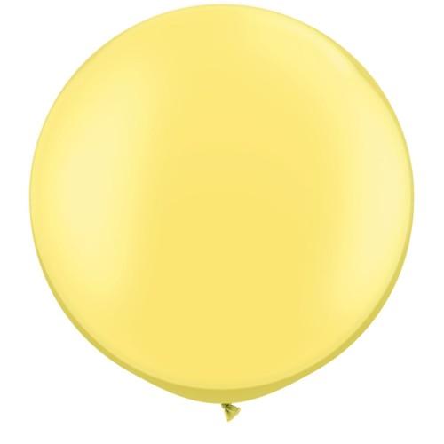 "Pearl Lemon Chiffon 75cm - 30"""
