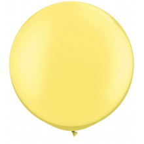 Balon Pearl Lemon Chiffon 90 cm