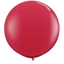 Balloon Ruby Red 90cm - 3'