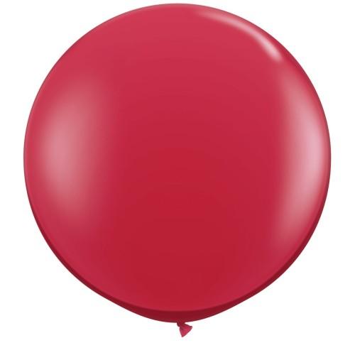 Balon ruby red 90 cm