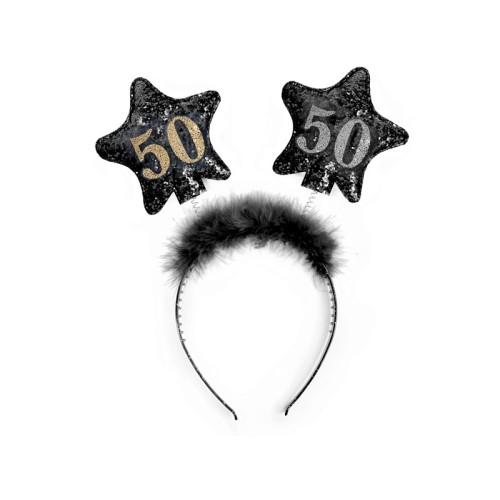 50th Birthday Headband