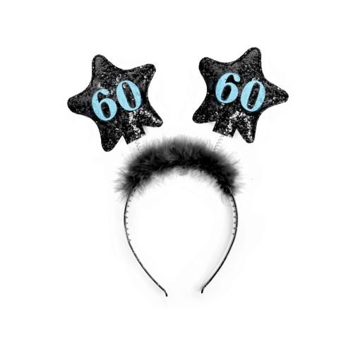 60th Birthday Headband
