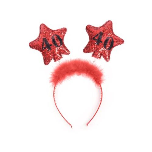 40th Birthday Headband