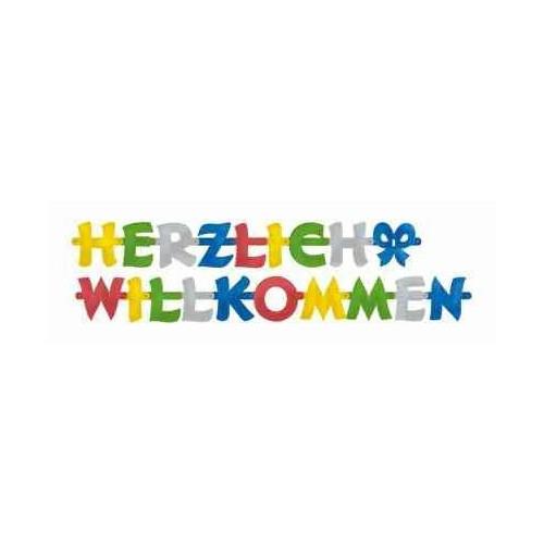 Banner Herlich Wilkommen