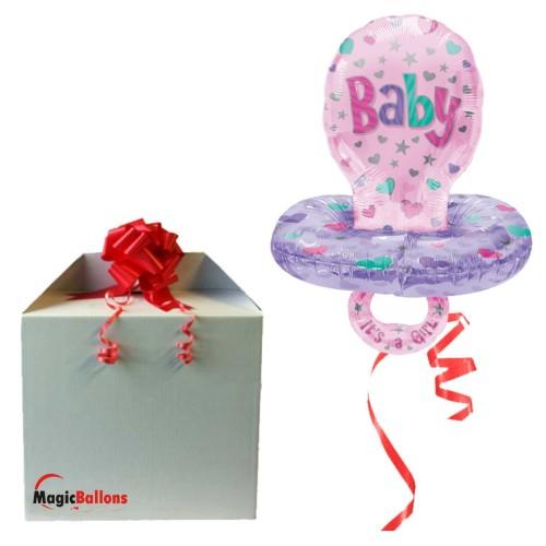 Baby Pacifier - Girl