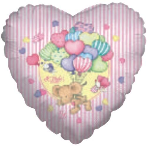 Lillebi - Folija z baloni