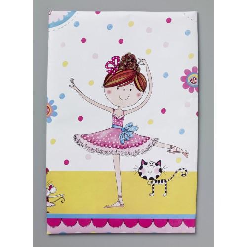 Rachel Ellen Ballerina tablecover