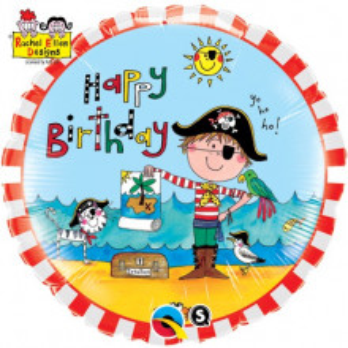 Rachel Ellen - Birthday Pirate