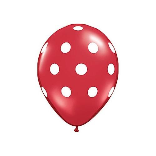 "Balon with dots - 41 cm (16"")"
