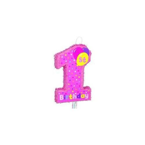 1st Birthday girl pinata