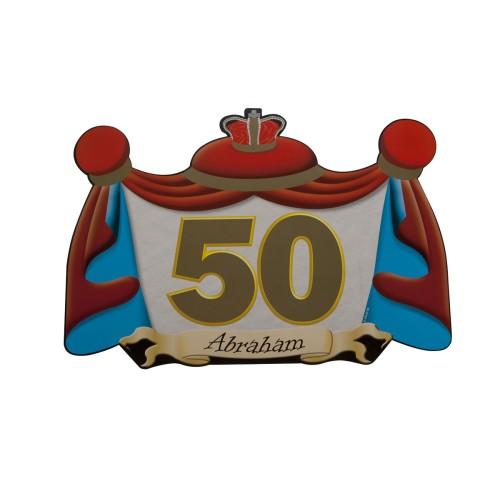 Dekoracija vrat - 50 Abraham