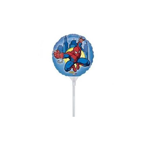 Spiderman on a stick