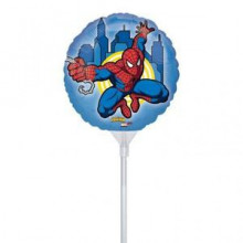 Spiderman - folija balon na palčki