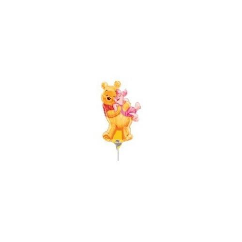 Big Pooh Hug - folija balon na palčki