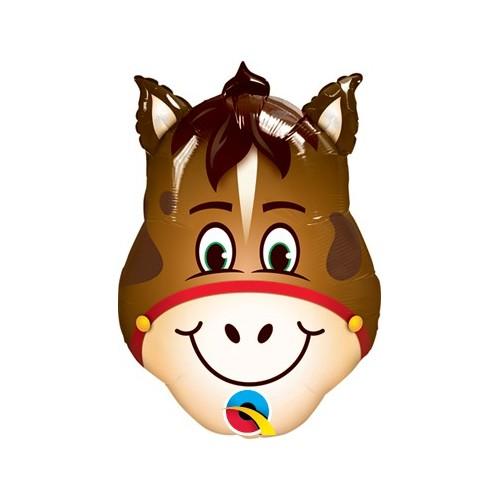 Konj - folija balon na palčki