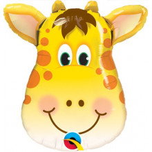 Žirafa - folija balon na palčki