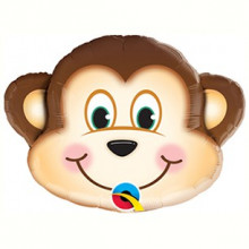Opica - folija balon na palčki