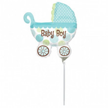 Baby Buggy Boy on a stick