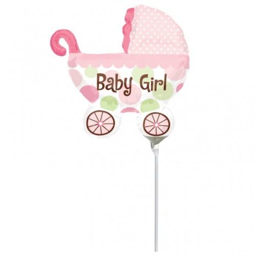 baby otroški voziček dekle palec balon