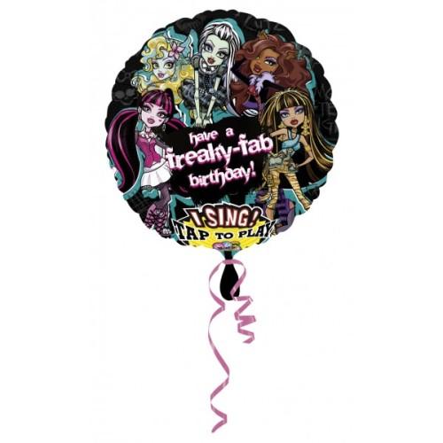 Monster High Birthday Singing balloon