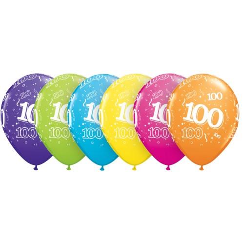 balon natisnjena 100 tropskih