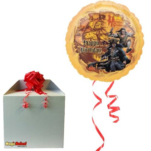 Pirati iz Karibov - Alu. balon - napihnjen
