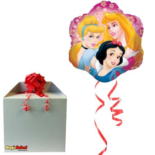 Princesses Alu. balon -napihnjen
