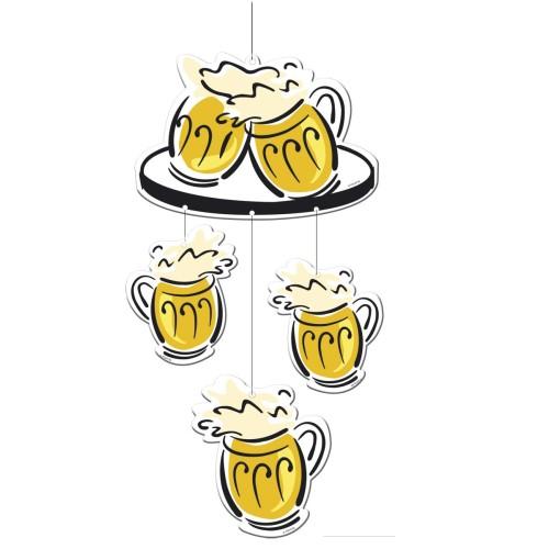 """Hangingdeco """"Beerparty"""""""